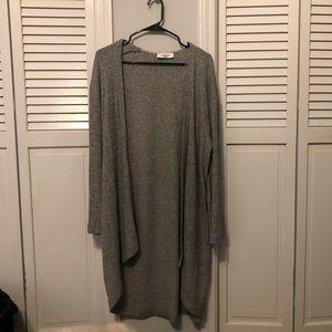 CJLA gray cardigan